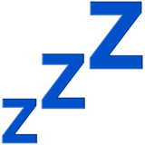 Zzz on Apple iOS 13.1