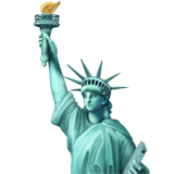 Statue of Liberty on Apple iOS 13.1
