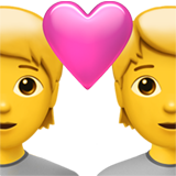 Couple with Heart on Apple iOS 13.2