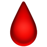 Drop of Blood on Apple iOS 13.2