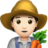 Farmer: Light Skin Tone on Apple iOS 13.2