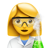 Woman Scientist on Apple iOS 13.2