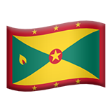 Flag: Grenada on Apple iOS 13.2