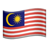 Flag: Malaysia on Apple iOS 13.2