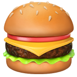 Hamburger on Apple iOS 13.2