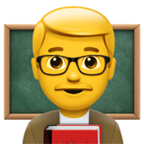 Man Teacher on Apple iOS 13.2