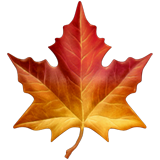 Maple Leaf on Apple iOS 13.2