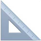 Triangular Ruler on Apple iOS 13.2