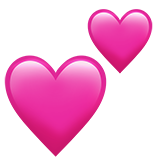 Two Hearts on Apple iOS 13.2