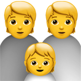 Family on Apple iOS 13.3