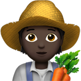 Farmer: Dark Skin Tone on Apple iOS 13.3