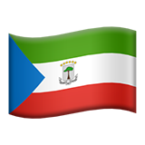 Flag: Equatorial Guinea on Apple iOS 13.3
