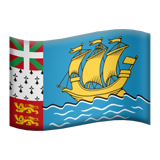 Flag: St. Pierre & Miquelon on Apple iOS 13.3
