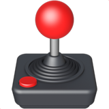 Joystick on Apple iOS 13.3