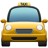 Oncoming Taxi on Apple iOS 13.3