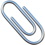 Paperclip on Apple iOS 13.3
