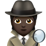 Detective: Dark Skin Tone on Apple iOS 13.3