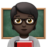 Teacher: Dark Skin Tone on Apple iOS 13.3