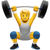 Person Lifting Weights on Apple iOS 13.3