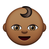 Baby: Medium-Dark Skin Tone on Apple iOS 9.0