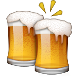 Clinking Beer Mugs on Apple iOS 9.0