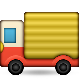 Delivery Truck on Apple iOS 9.0