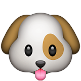 Dog Face on Apple iOS 9.0