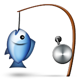 Fishing Pole on Apple iOS 9.0