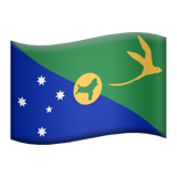 Flag: Christmas Island on Apple iOS 9.0