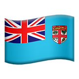 Flag: Fiji on Apple iOS 9.0