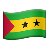 Flag: São Tomé & Príncipe on Apple iOS 9.0