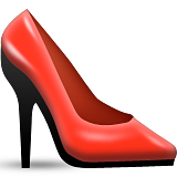 High-Heeled Shoe on Apple iOS 9.0