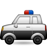 Police Car on Apple iOS 9.0