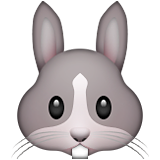 Rabbit Face on Apple iOS 9.0