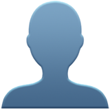 Bust in Silhouette on Apple iOS 14.2