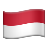 Flag: Monaco on Apple iOS 14.2