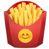 French Fries on Apple iOS 14.2