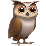 Owl on Apple iOS 14.2