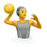 Person Playing Water Polo on Apple iOS 14.2