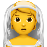 Person With Veil on Apple iOS 14.2