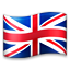Flag: United Kingdom on Apple iOS 5.0