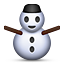 Snowman Without Snow on Apple iOS 5.0