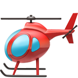 Helicopter on Apple iOS 14.6