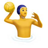 Man Playing Water Polo on Apple iOS 14.6