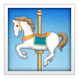 Carousel Horse on Apple iOS 9.1