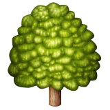 Deciduous Tree on Apple iOS 9.1