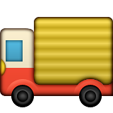 Delivery Truck on Apple iOS 9.1