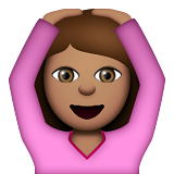 Person Gesturing OK: Medium Skin Tone on Apple iOS 9.1