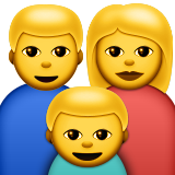 Family on Apple iOS 9.1