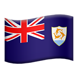 Flag: Anguilla on Apple iOS 9.1